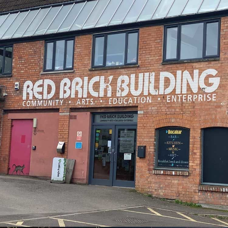Red Brick Bulding, Glastonbury, Somerset