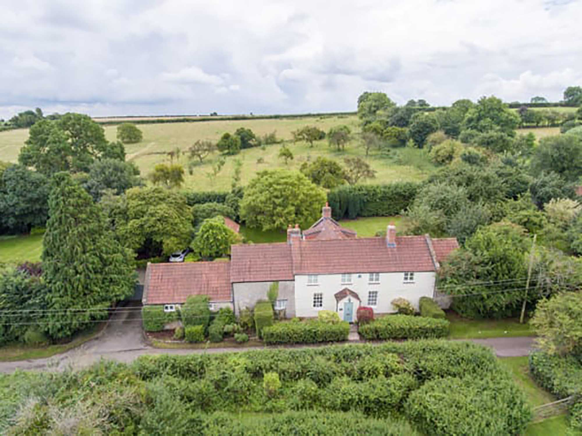 Beautifully renovated house with land and annexe potential, Low Ham, Langport
