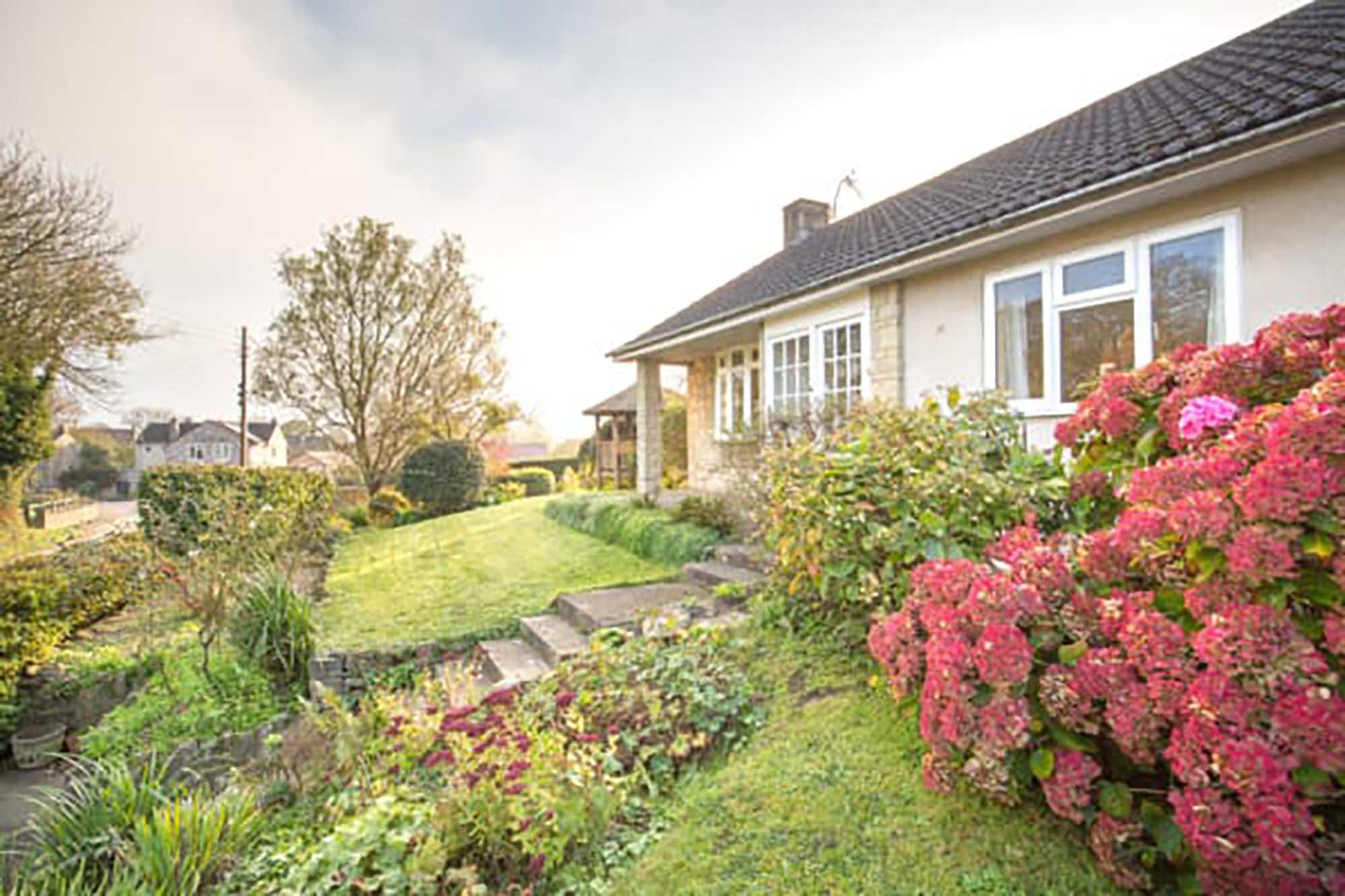 Ditcheat – Bungalow with good view
