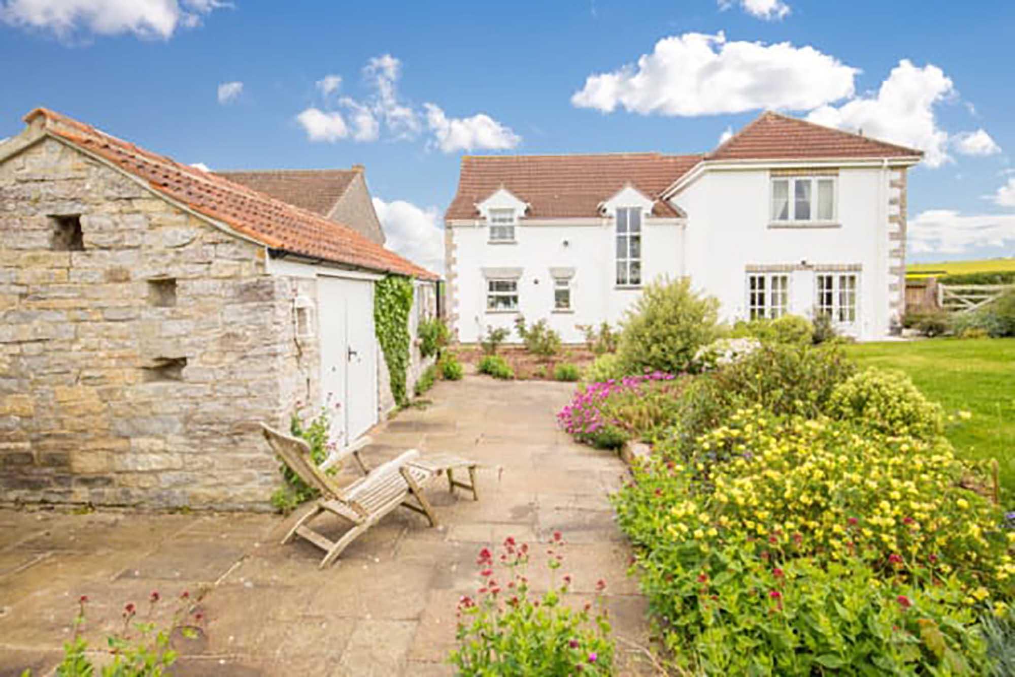 Victorian cottage, Barton St David