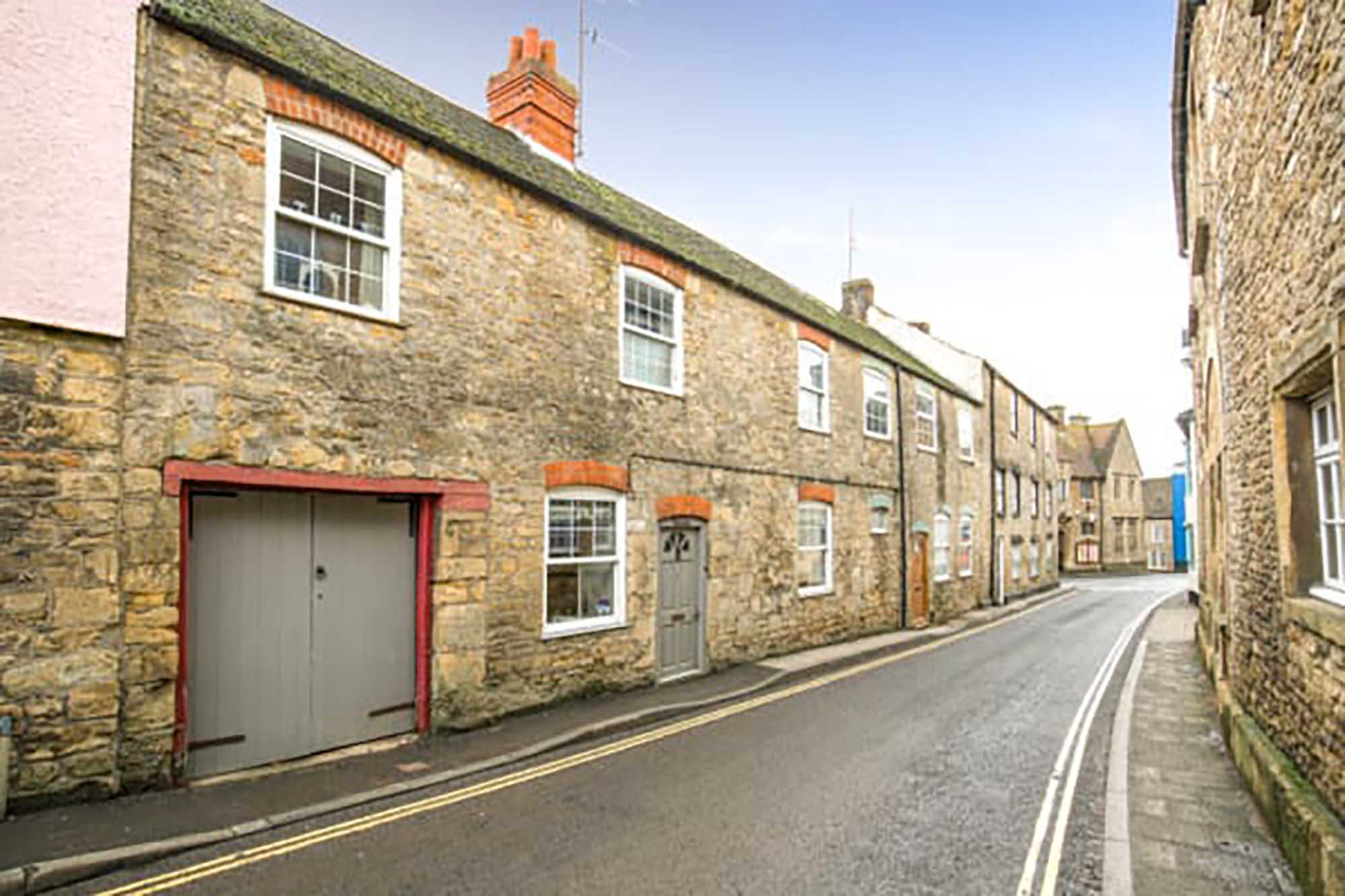 BRUTON-4 Bedroom stunning period property with walled garden, carport and two storey stone outbuilding.