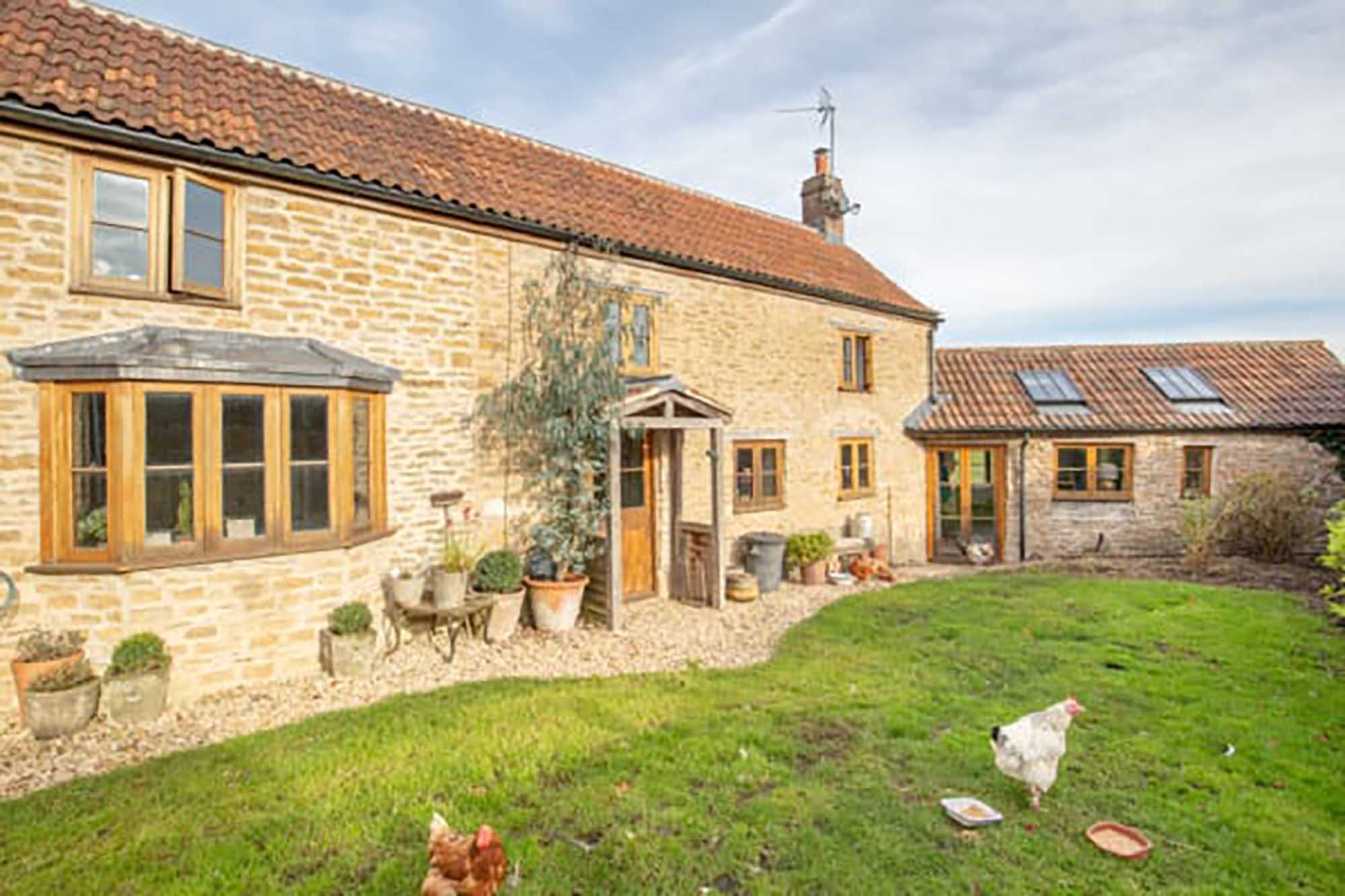 Period cottage near Bruton and Frome, Upton Noble