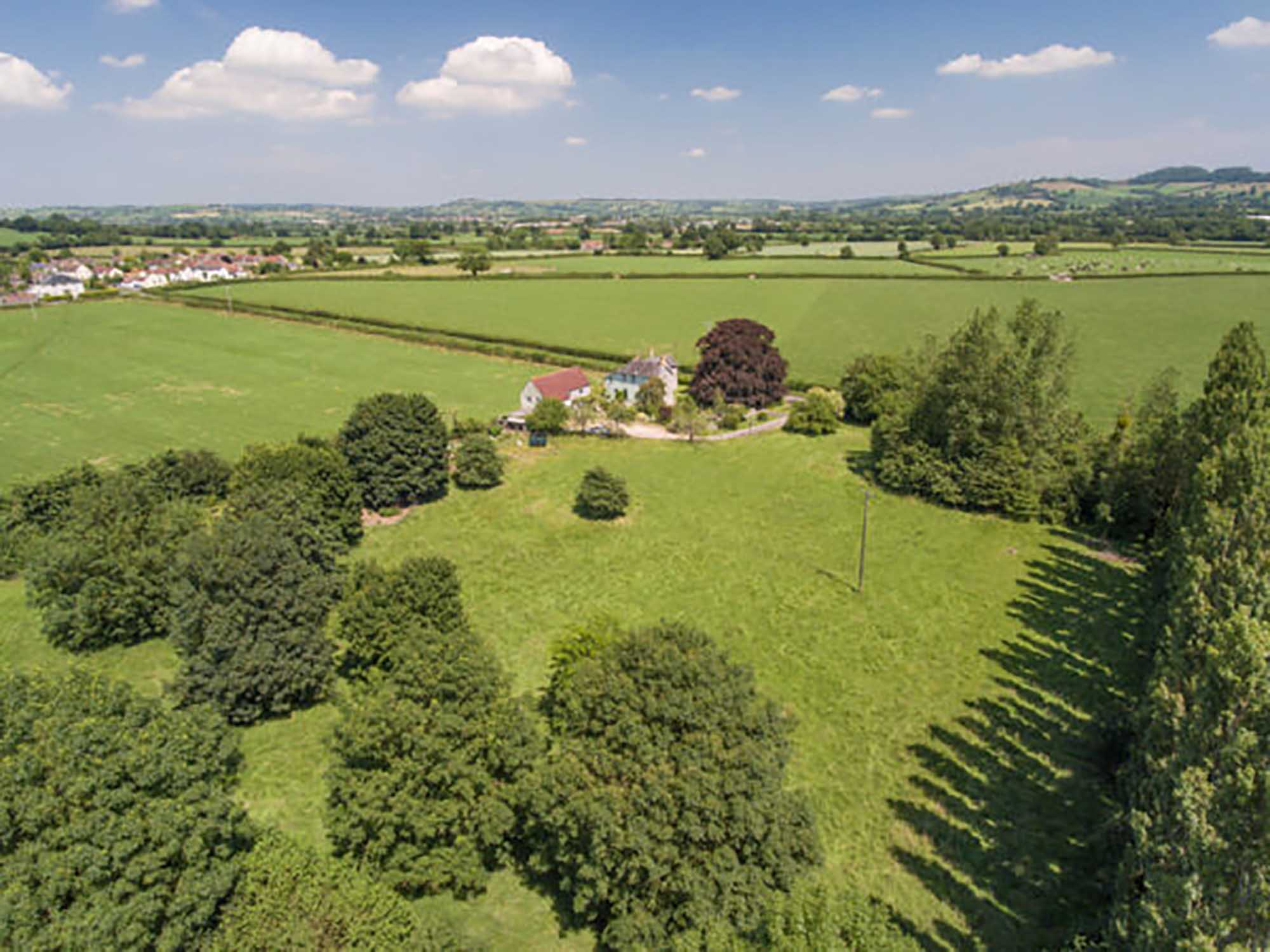Family home, two bed annexe, 3.5 acres near Bruton