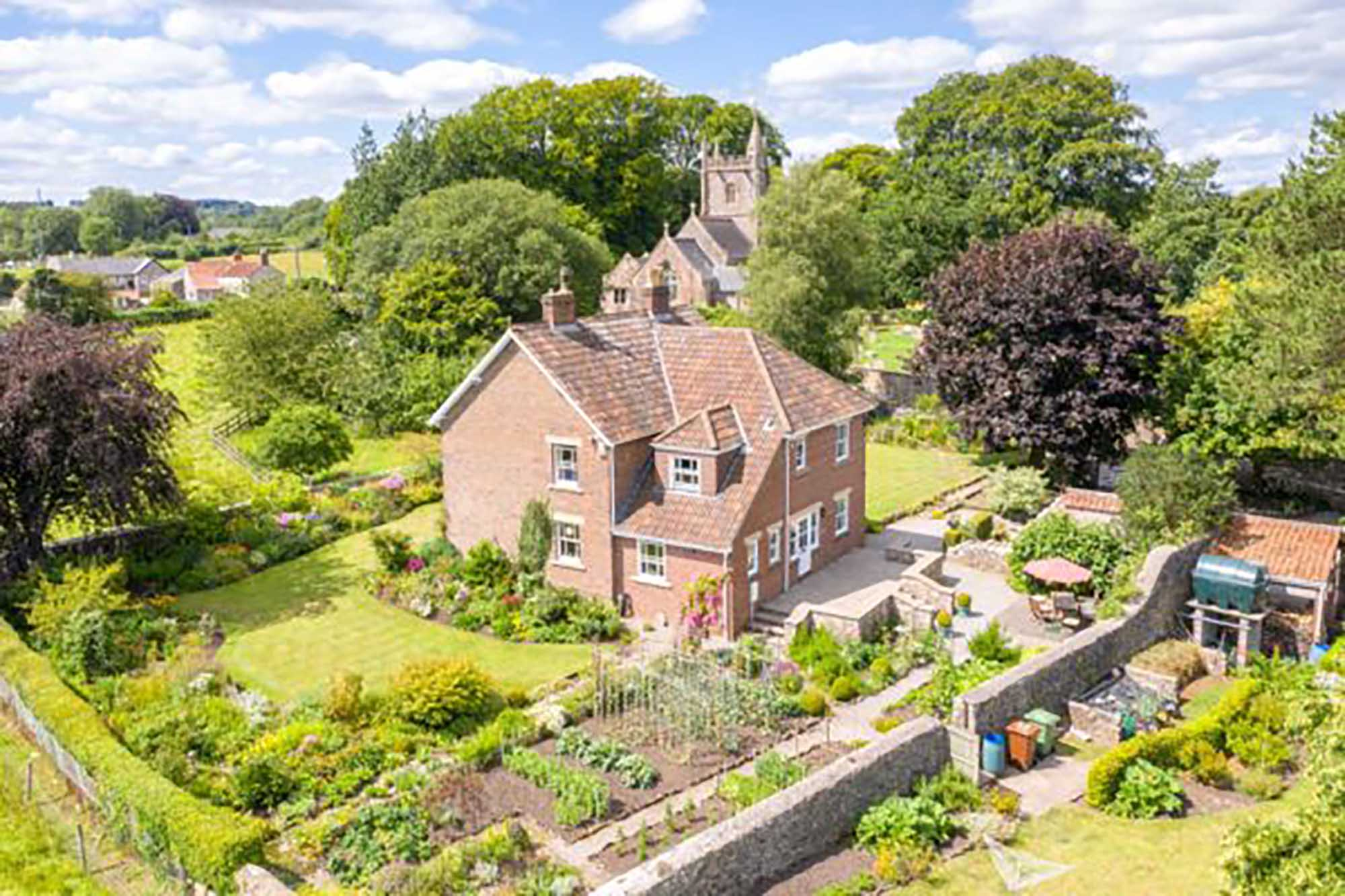 Idyllic location, views, amazing garden in Ashwick, Oakhill