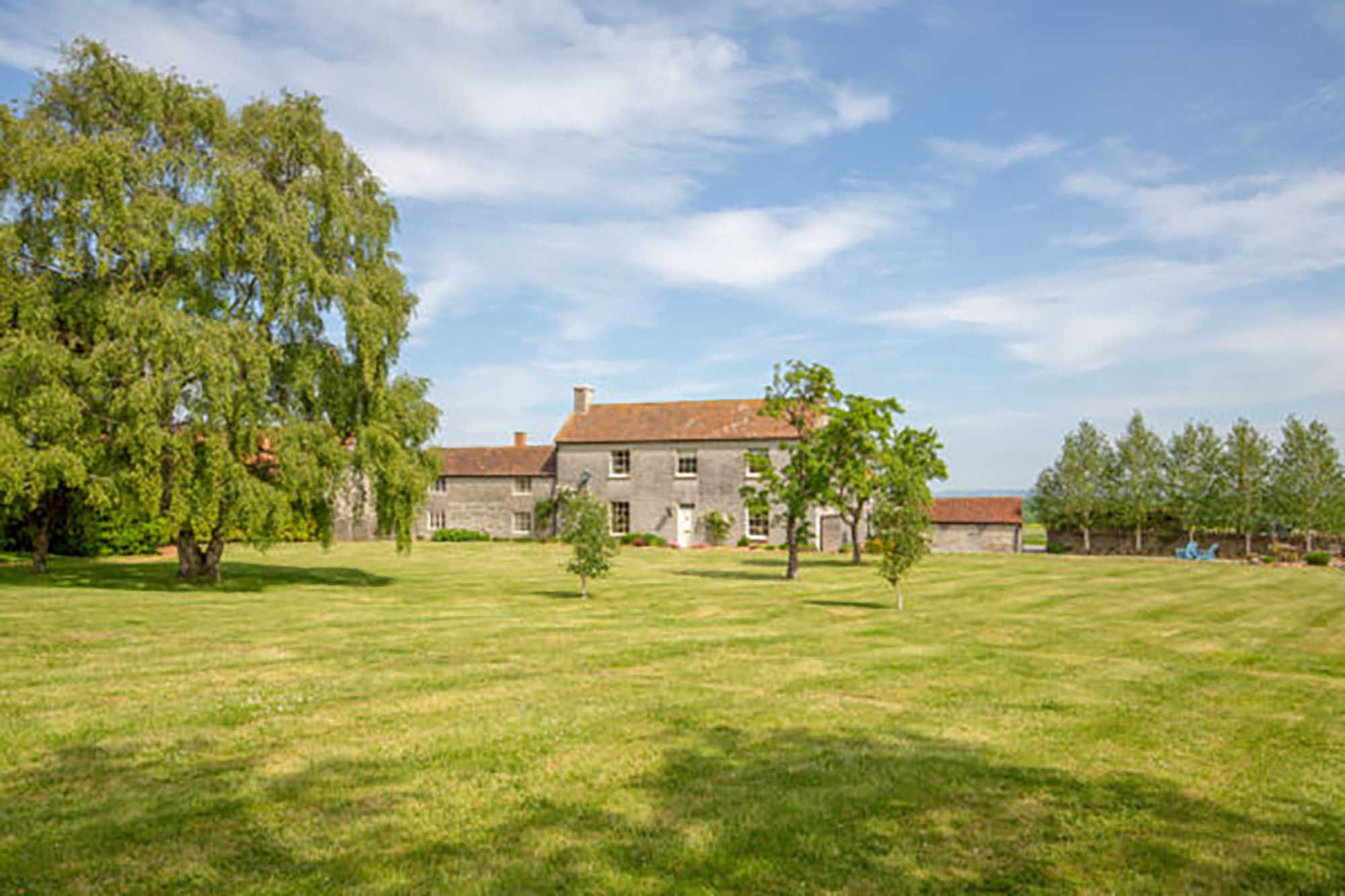 Stunning farmhouse with land and no onward chain.