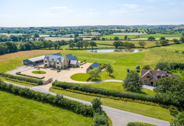 Bruton – stunning contemporary family home with land