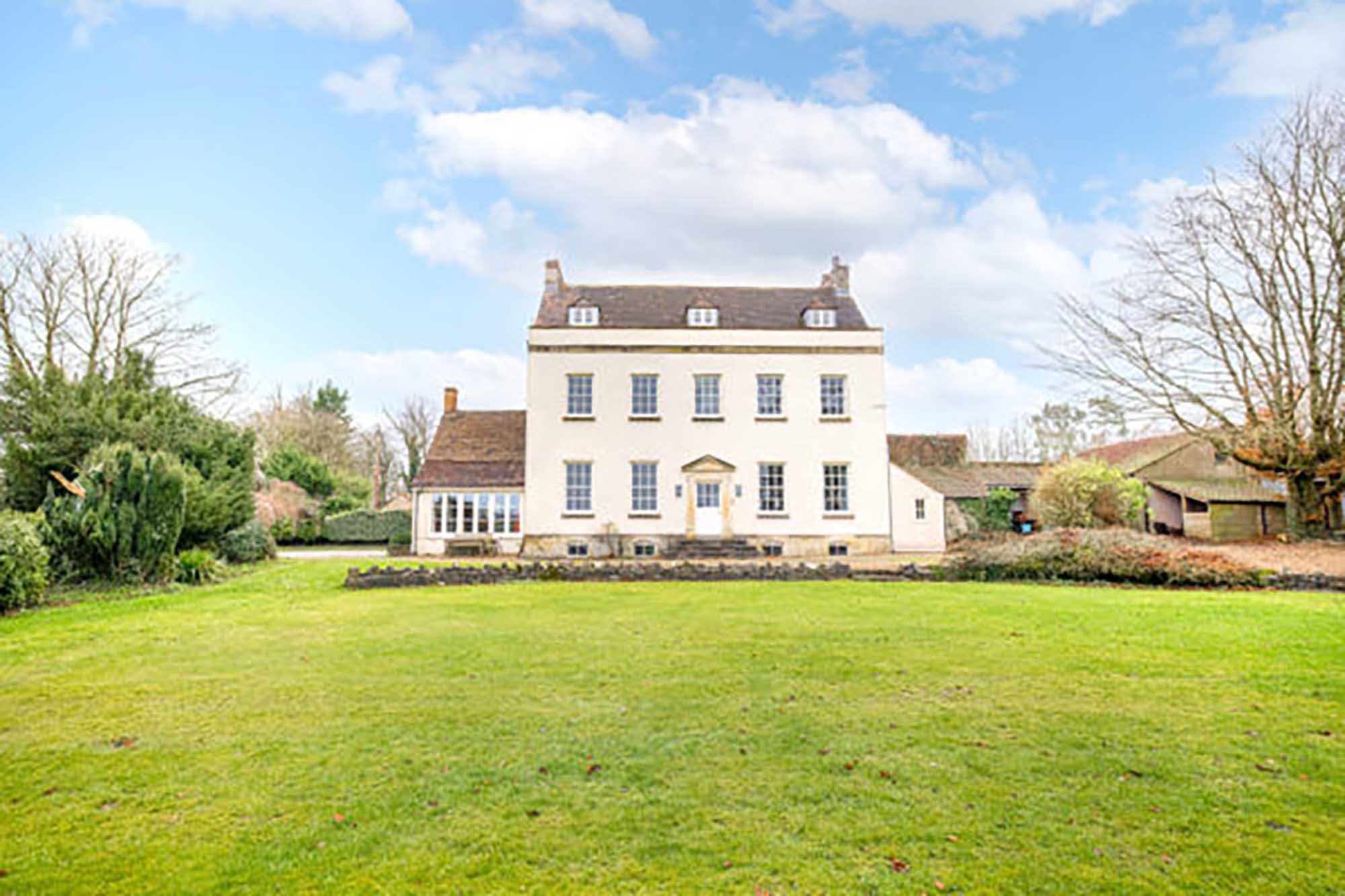 Whatley, Frome – Old Rectory, land, views, annexe potential