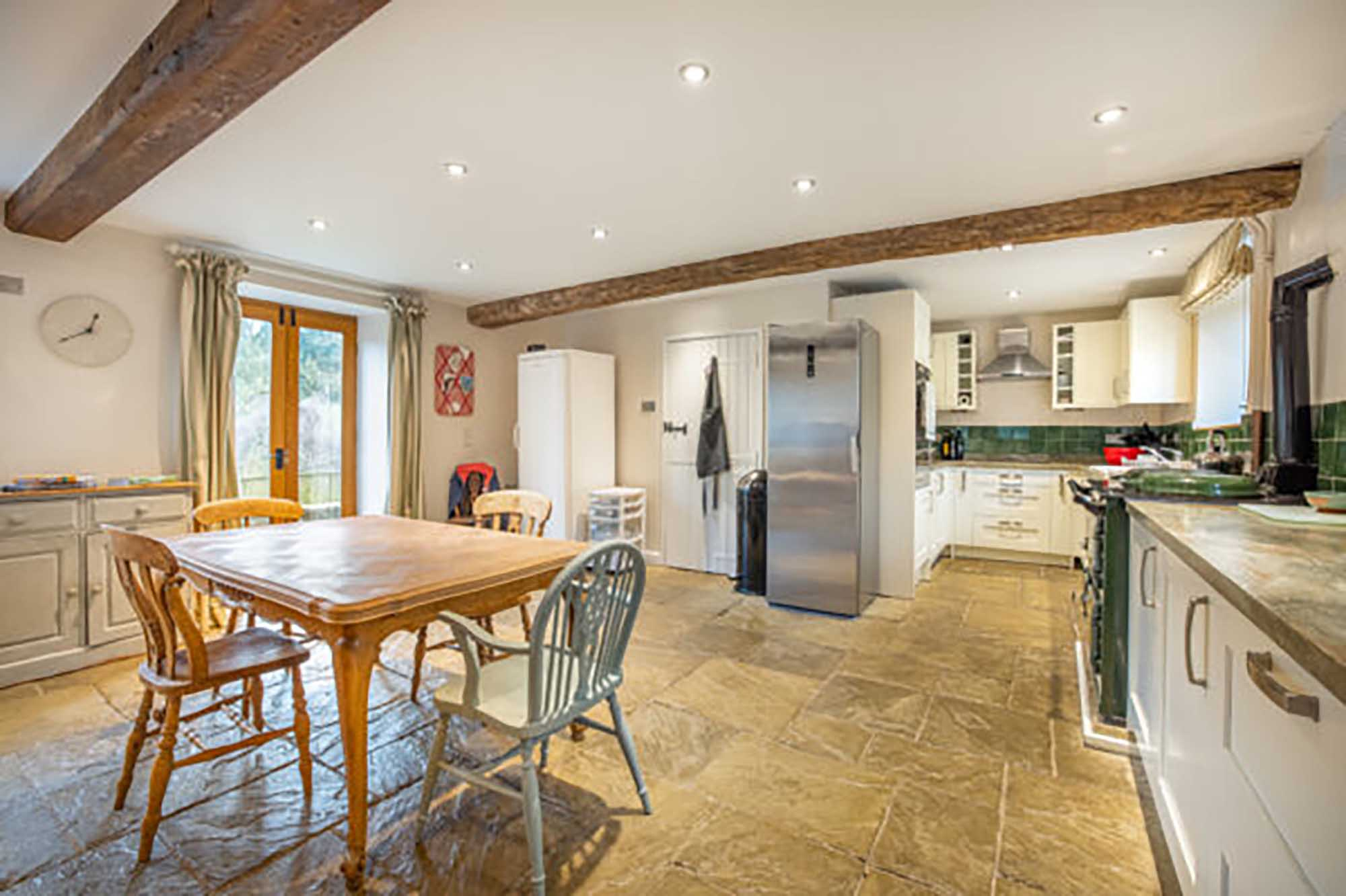 Deceptively spacious cottage in popular village of Wedmore